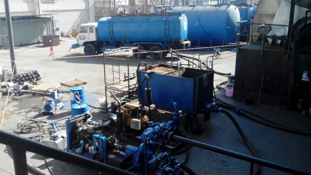 Chemical Cleaning Services : Chemical cleaning of industrial boilers multilink